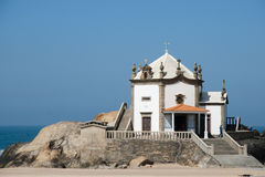 Lord of the Rock Chapel - Portugal royalty free stock photo