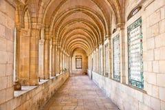 Lord's Prayer in Internal passageway Royalty Free Stock Image