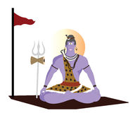 Lord shiva Royalty Free Stock Image