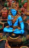 Lord shiva. Metal statue of lord shiva looking beautiful Stock Photos