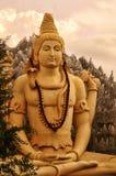 Lord Shiva calmo e composto Immagini Stock Libere da Diritti