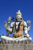 Lord Shiva dans l'hindouisme Images stock