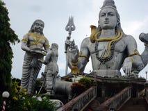 Lord Shiva a Hindu deity. Closeup of lord Shiva also called Shankara a Hindu deity at Murudeshwara village Karnataka India Royalty Free Stock Photo