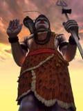 Lord shiva. A huge statue on Lord shiva in Kadambari nagar,India Royalty Free Stock Photos