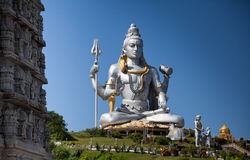 Lord Shiva idol. Huge idol of Lord Shiva, in the Hindu temple in Murudeshwar, Karnataka India Stock Images