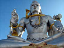 Lord Shiva idol close up Stock Photography