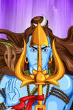 Lord Shiva Indian God of Hindu Stock Photography
