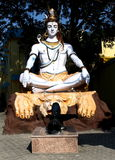 Lord Shiva in Meditative Pose Royalty Free Stock Image