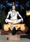 Lord Shiva nella posa meditativa Immagine Stock Libera da Diritti