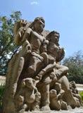 Lord Shiva & Parvati Madhya Pradesh Royaltyfri Fotografi