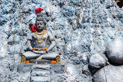 Lord Shiva in Penance Royalty Free Stock Photo