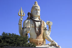 Lord Shiva in Serene Pose Royalty Free Stock Image