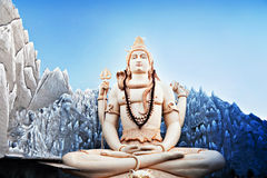 Lord Shiva Statue Royalty Free Stock Photos