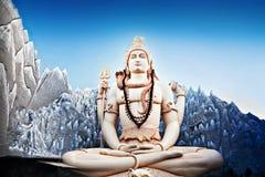 Lord Shiva Statue Stock Image