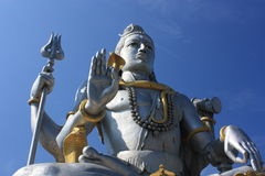 Lord Shiva Statue, India. Stock Photography