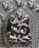 Lord Shiva Stone Sculpture imagens de stock royalty free