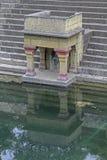 Lord Shiva Temple antico, tempio di Siddheshwar fotografia stock