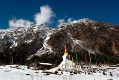 Lord Shiva Temple at Yumthang Royalty Free Stock Image