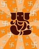 Lord Shree Ganesh Royalty-vrije Illustratie