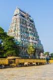 Lord Siva Temple - Chidambaram arkivbild