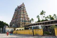 Lord Siva Temple rodeó la naturaleza - Chidambaram imagen de archivo libre de regalías