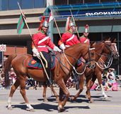 Lord Strathcona Regiment On Parade Stockfoto