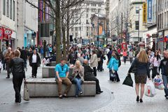 Lord Street, Liverpool Royalty Free Stock Photo