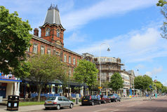 Lord Street, Southport, Merseyside Immagine Stock