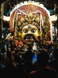 Lord Swet Bhairava stock photography