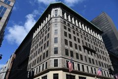 Lord & Taylor Building In New York-Stad stock foto