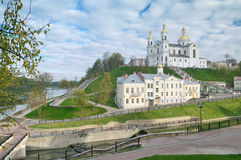 Lord Transfiguration Cathedral In Vitebsk Royalty-vrije Stock Afbeelding