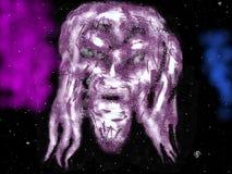 Lord van ruimte stock illustratie