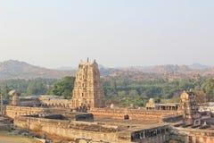 Lord Virupaksha tempel, Hampi, Indien Royaltyfri Fotografi