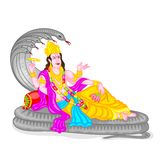 Lord Vishnu Stock Photo