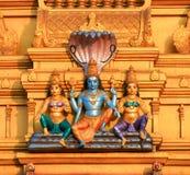 Lord Vishnu statue Stock Image