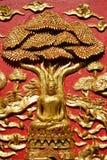 Lord von Buddha unter dem Baum Lizenzfreie Stockfotos