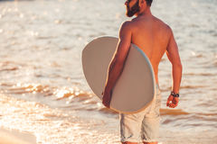 Lord of wave. Stock Photos