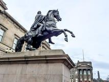 Lord Wellington statue, Edinburgh, Scotland Royalty Free Stock Photography