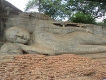 Lordens Buddhas staty Arkivbild
