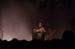 Lordi Dez. 05 2013 Meetfactory Praha (Prague) Royalty Free Stock Photo