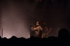 Lordi Dez. 05 2013 Meetfactory Praha (Praga) Foto de Stock Royalty Free