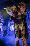 Lordi i Prague 2016 Royaltyfri Bild
