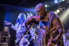 Lordi i Prague 2016 Fotografering för Bildbyråer