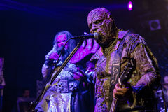 Lordi i Prague 2016 Arkivfoto