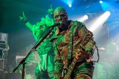 Lordi in Prag 2016 Lizenzfreie Stockfotos