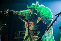 Lordi in Prag 2016 Stockfotos