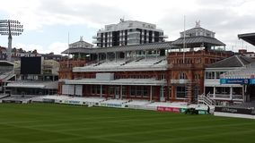 Lords Cricket Ground Stock Foto's