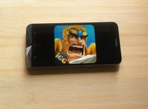 Lords Mobile: Kampf des Reiche App lizenzfreie stockfotos