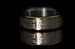 Lords Prayer Ring Stockbild