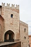 Lordship palace in a village of middle italy Royalty Free Stock Images